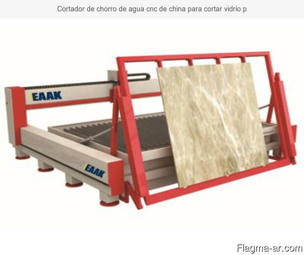 Máquina de corte de granito de mármol de piedra cnc de chorr