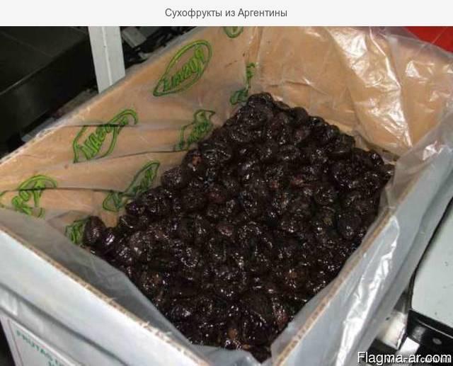 Сухофрукты из Аргентины